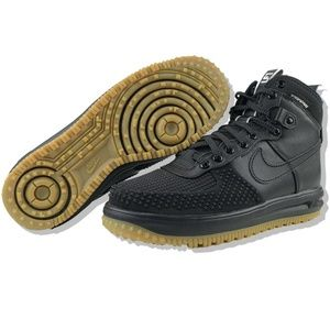 Nike Lunar Force 1 Duckboot Mens Black Gum
